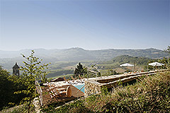 Langhe Stone Farmhouse with Infinity Swimming Pool - Restored Langhe Stone House and infinity swimming pool.